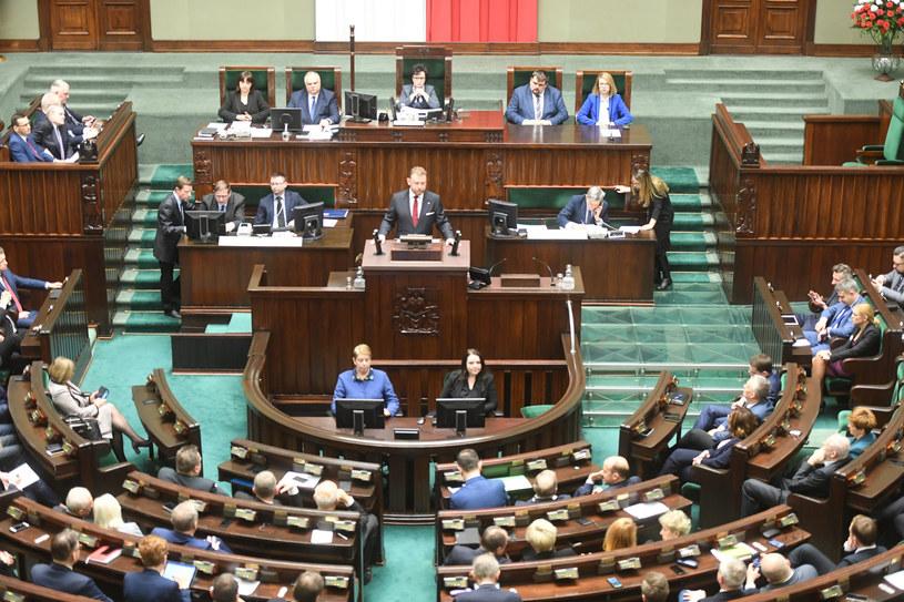 Debata w Sejmie /Jacek Domiński /Reporter