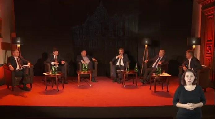 Debatę poświęconą służbie zdrowia zorganizował Uniwersytet Ekonomiczny w Krakowie /