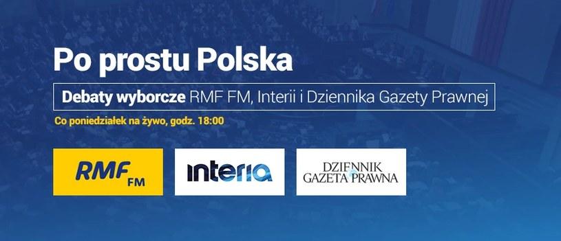 """Debaty """"Po prostu Polska"""" odbywają się co poniedziałek /INTERIA.PL"""