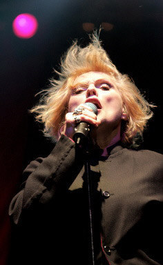 Debbie Harry (Blondie) /AFP