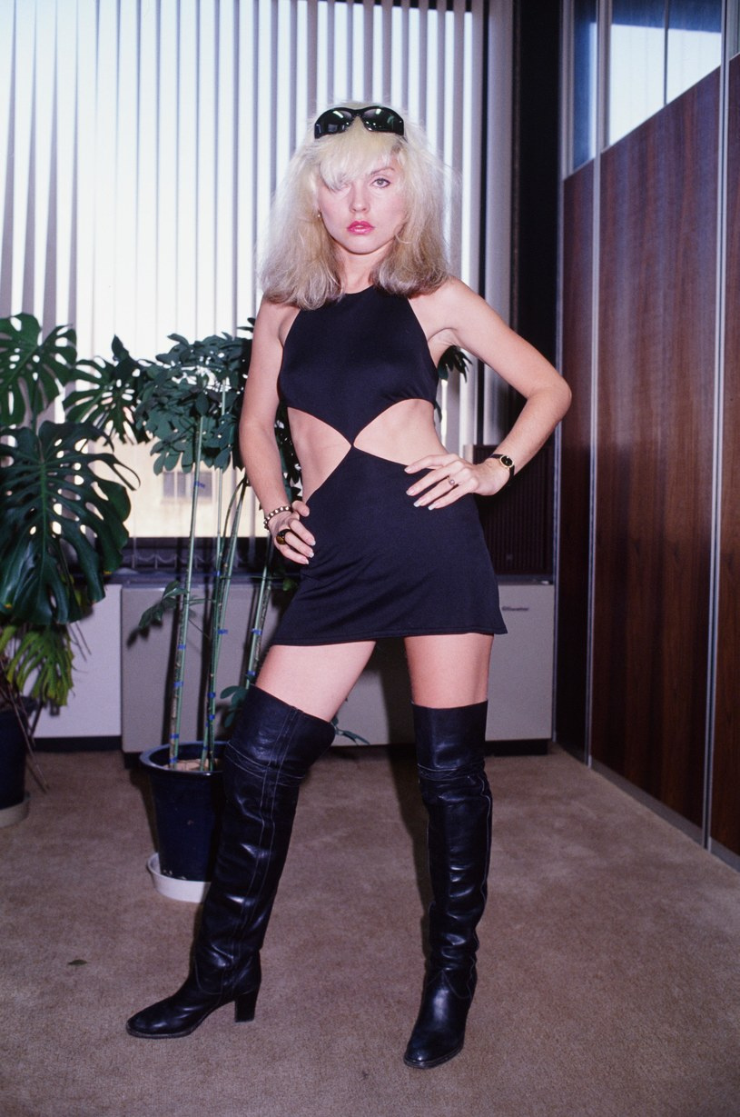 Debbie Harry w 1978 r. /Koh Hasebe/Shinko Music /Getty Images