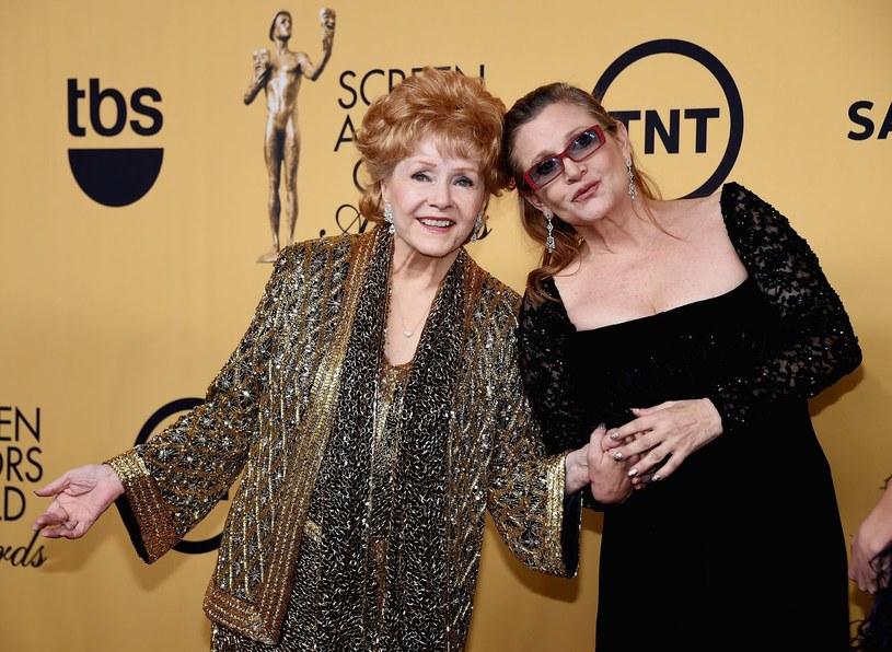 Debbie Reynolds, Carrie Fisher /AFP