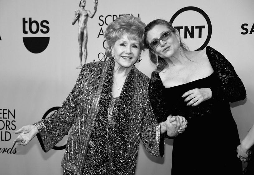 Debbie Reynolds i Carrie Fisher w 2015 roku /Ethan Miller /Getty Images