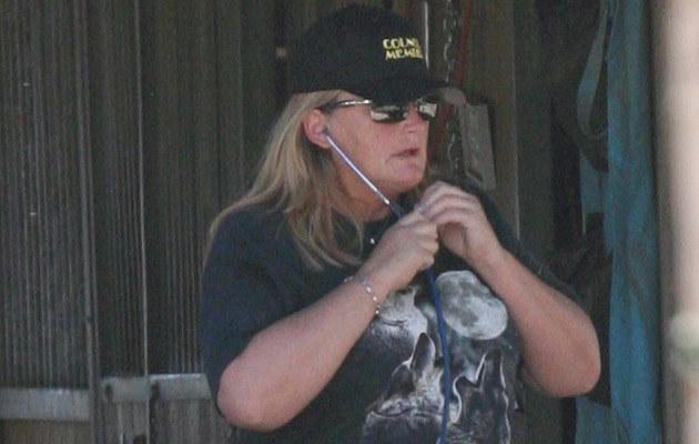 Debbie Rowe  /Splashnews