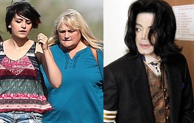 Debbie Rowe z córką i śp. Michael Jackson /- /East News