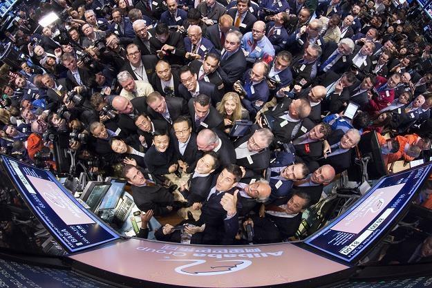 Debiut Alibaby na NYSE /EPA