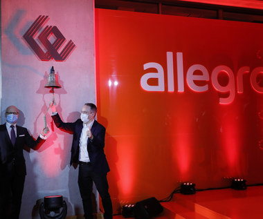 Debiut Allegro na giełdowym parkiecie