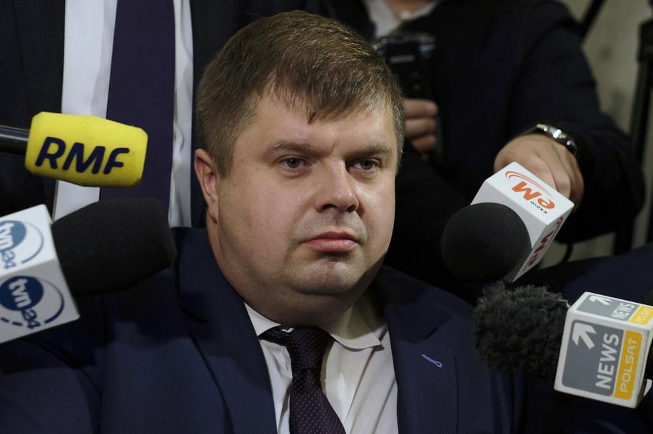 Decyzja Wojciecha Kałuży przesądziła o tym, że PiS ma większość w śląskim sejmiku / Andrzej Grygiel    /PAP