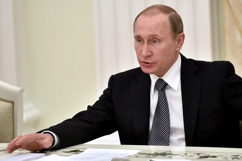 Decyzję o zakończeniu misji w Syrii podjął Władimir Putin /PAP/EPA