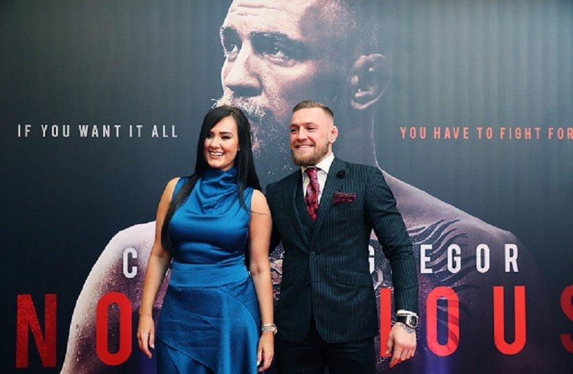 Dee Devlin i Conor McGregor /Brian Lawless - PA Images /Getty Images