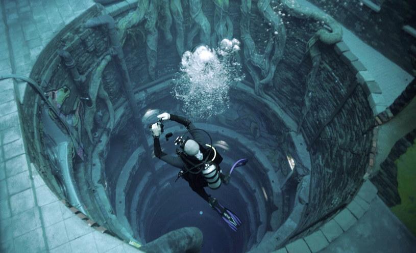 Deep Dive Dubai to obecnie najgłębszy basen świata /GIUSEPPE CACACE/AFP /East News