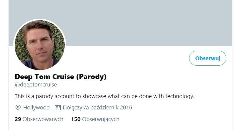 Deep Tom Cruise (Parody) /Twitter