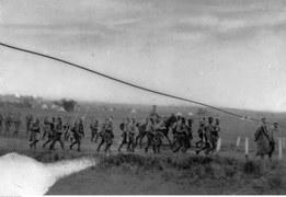 Defilada Legionów Polskich na Wołyniu