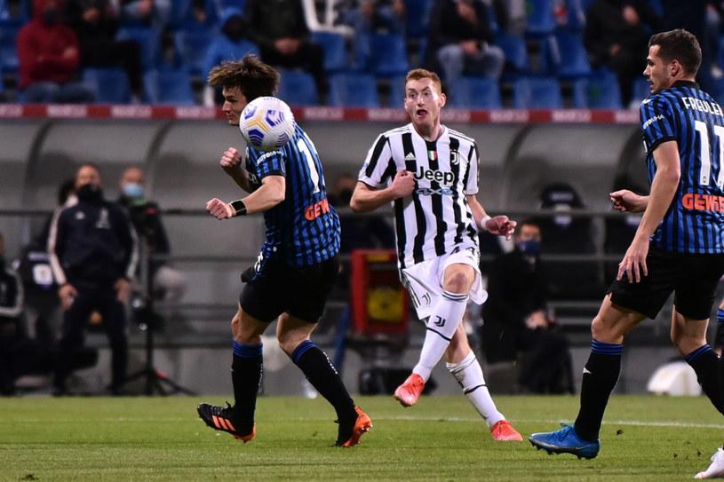 Dejan Kulusevski z Juventusu, strzelec bramki na 1-0 /PAOLO MAGNI  /PAP