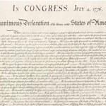 Deklaracji Niepodległości wielkości włosa