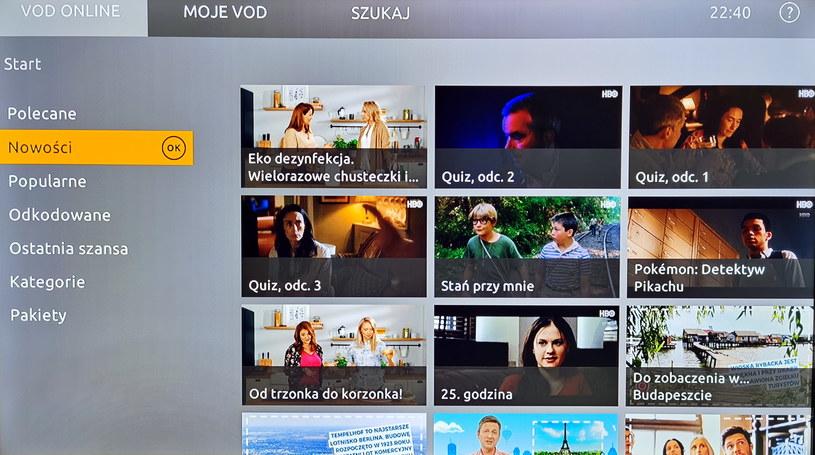 Dekoder gwarantuje dostęp do usług VoD /INTERIA.PL
