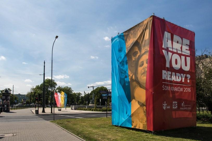 Dekoracje krakowskich ulic na ŚDM /Jan Graczyński /East News