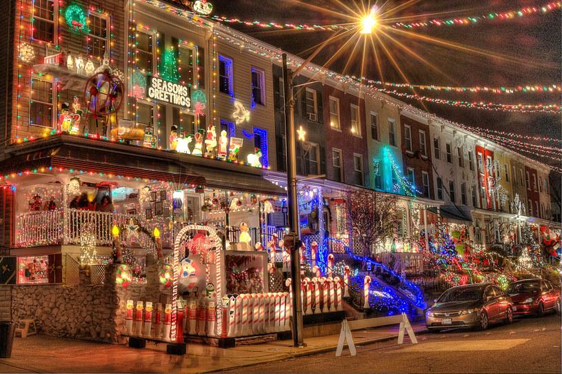 Dekoracje świąteczne w Baltimore (USA) /Scoopshot