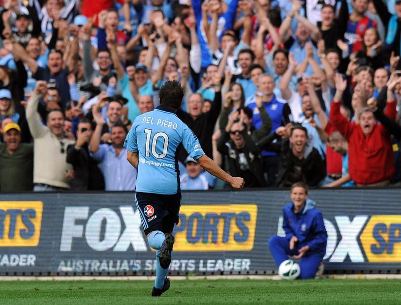 Del Piero szybko zaaklimatyzował się w Sydney /AFP