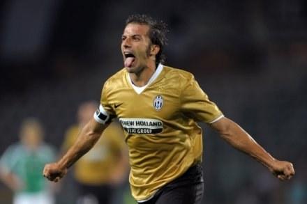 Del Piero w wielkim stylu powraca do Ligi Mistrzów /AFP
