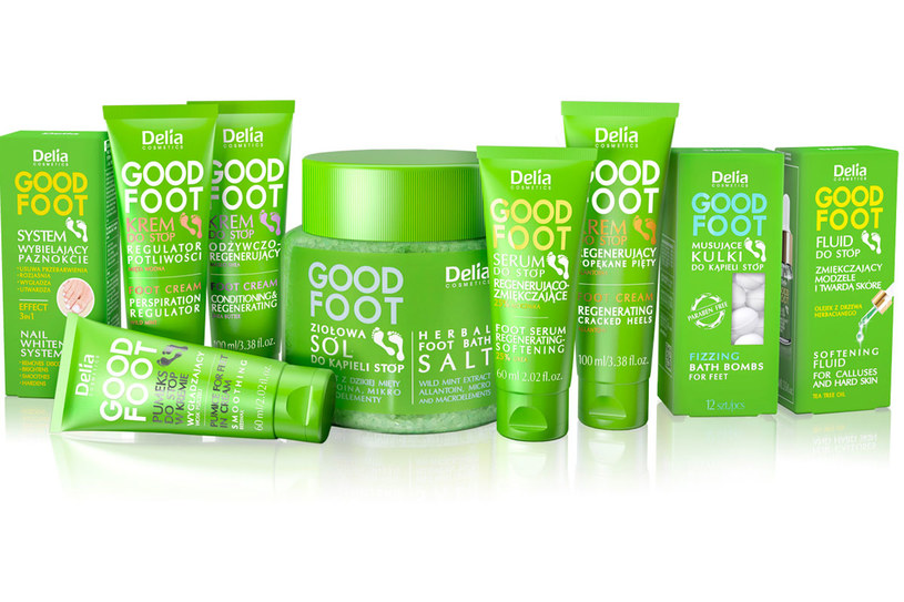 Delia Cosmetics: Linia Good Foot /materiały prasowe