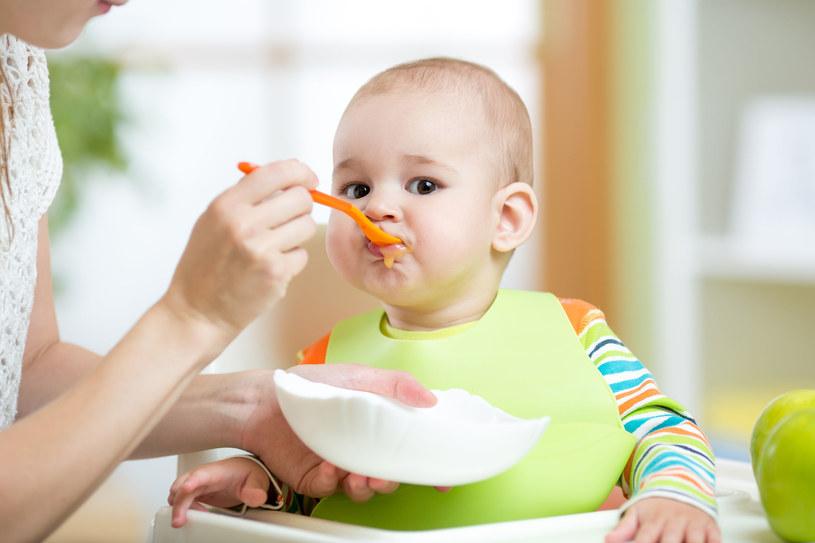 Delikatny organizm maluszka potrzebuje specjalnej, dostosowanej do jego potrzeb żywności /123RF/PICSEL