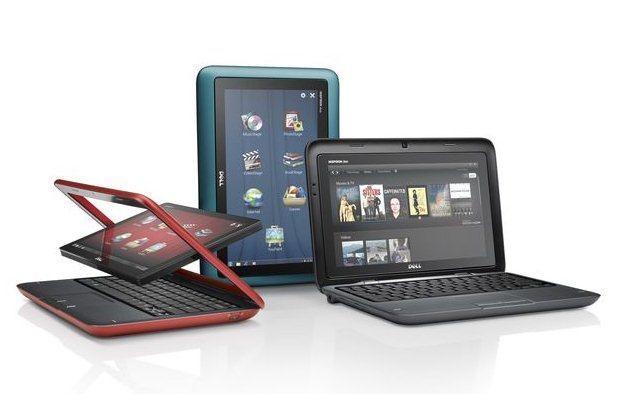 Dell Inspiron Duo - interesująca odpowiedź na netbooki ze strony Della /materiały prasowe