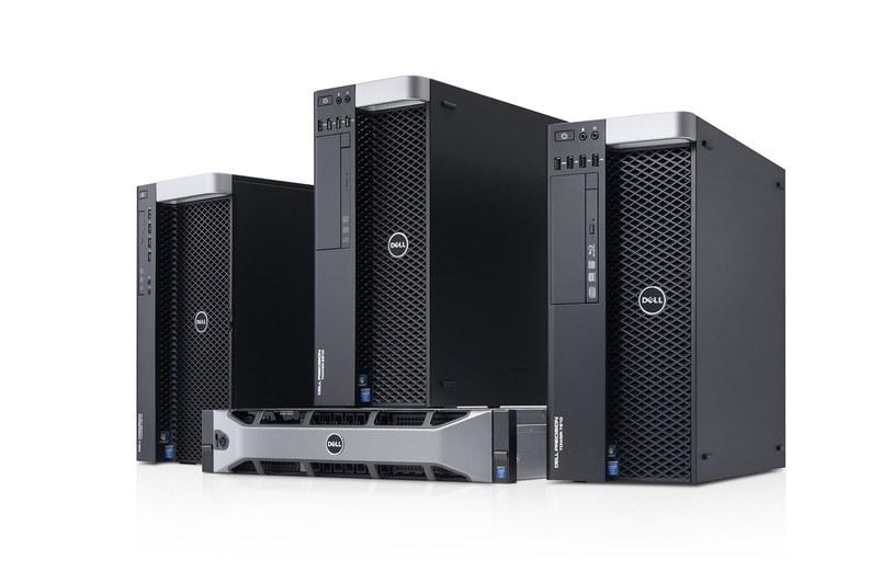 """Dell modernizuje stacje robocze Precision w obudowach typu """"tower"""" i przeznaczone do montażu w szafach typu """"rack"""" dla twórców treści do systemów VR /materiały prasowe"""