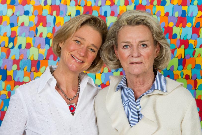 Delphine Boël  z matką Sybille de Selys Longchamps /East News