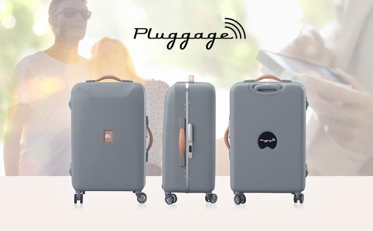 Delsey Pluggage - walizka nowej generacji /materiały prasowe