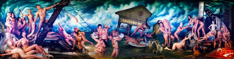"""""""Deluge"""" (Potop) amerykańskiego twórcy Davida LaChapelle'a jest najdrożej sprzedanym zdjęciem w Polsce. /materiały prasowe"""