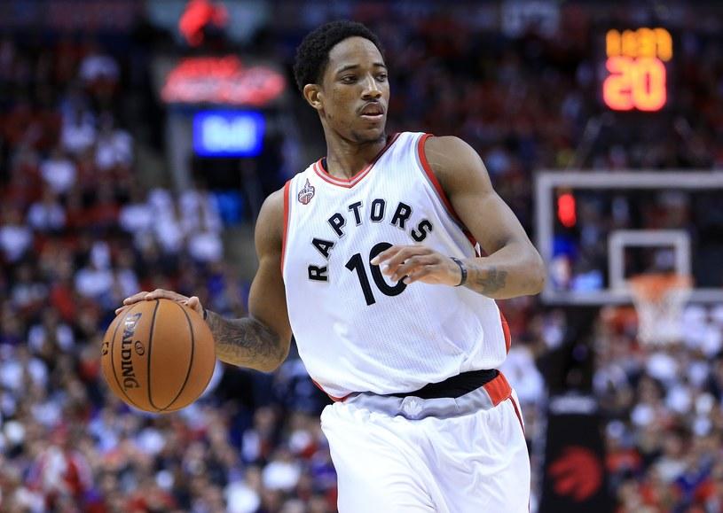 DeMar DeRozan z Toronto Raptors /AFP