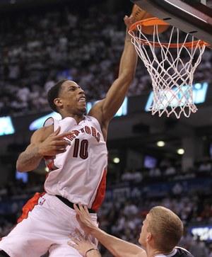 DeMar DeRozan zdobył 30 punktów, zwycięstwo Toronto Raptors