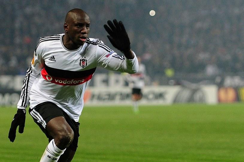 Demba Ba w barwach Besiktasu /AFP