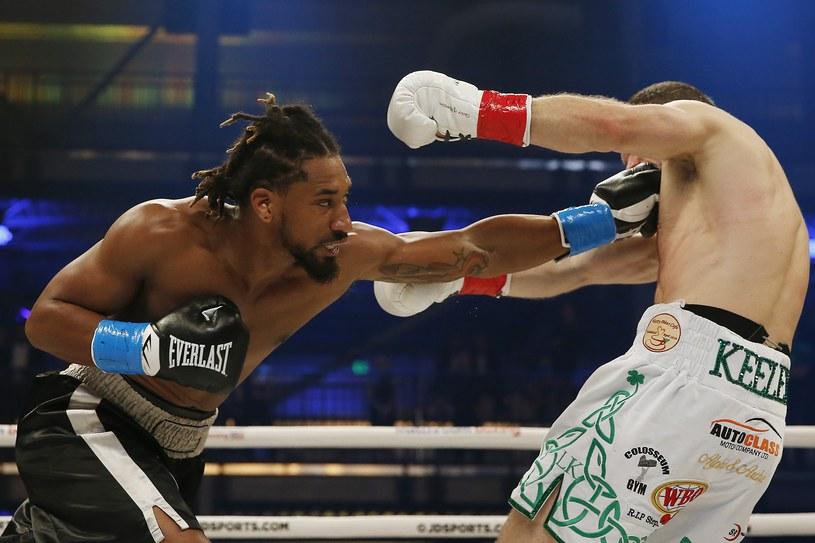 Demetrius Andrade pewnie pokonał Luke'a Keelera /AFP