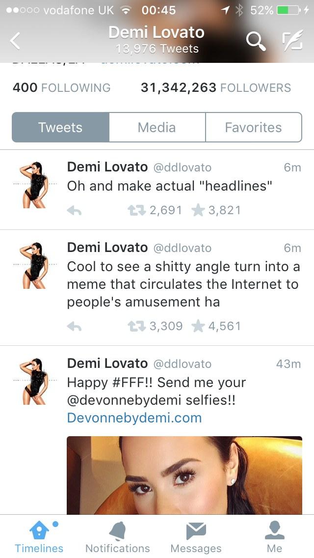 Demi Lovato komentuje zamieszanie z Poot Lovato /oficjalna strona wykonawcy