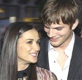 Demi Moore i Ashton Kutcher /