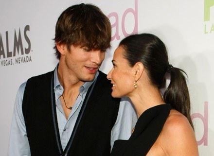 Demi Moore i Ashton Kutcher /Getty Images/Flash Press Media