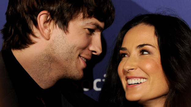 Demi Moore i Ashton Kutcher /- /Getty Images