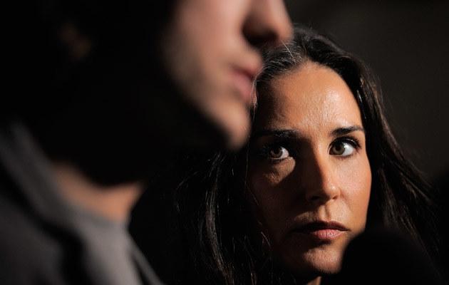 Demi Moore i Ashton Kutcher /Jemal Countess /Getty Images