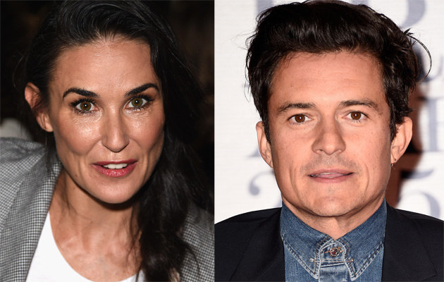 Demi Moore i Orlando Bloom mają się ku sobie! /Jason Merritt, Ian Gavan /Getty Images
