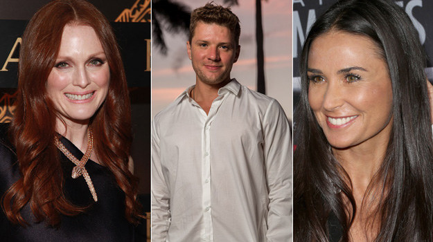 Demi Moore, Julianne Moore i  Ryan Phillippe zaczynali od… oper mydlanych! /Taylor Hill, Frederick M. Brown, Christopher Polk /Getty Images