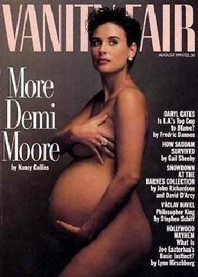 """Demi Moore na okładce """"Vanity Fair"""" /"""