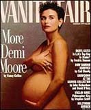 Demi Moore na słynnej okładce z 1991 roku /
