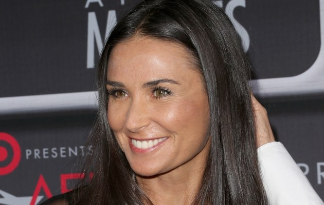Demi Moore /- /Getty Images