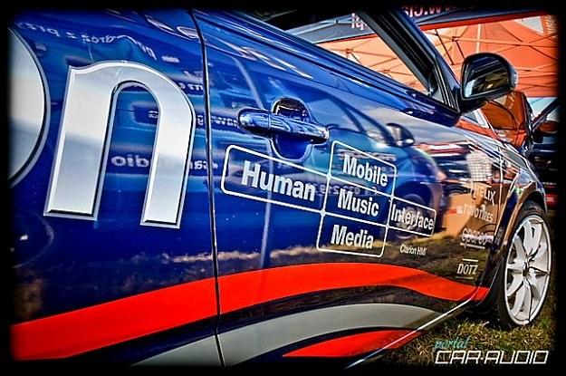 Demo car - Clarion / Fot: Roman Słomka /