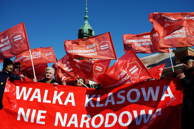 Demonstracja antyfaszystowska w Warszawie / Maciek Markowski /FORUM