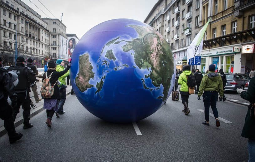 Demonstracja ekologów w Warszawie /Bartosz Krupa /East News