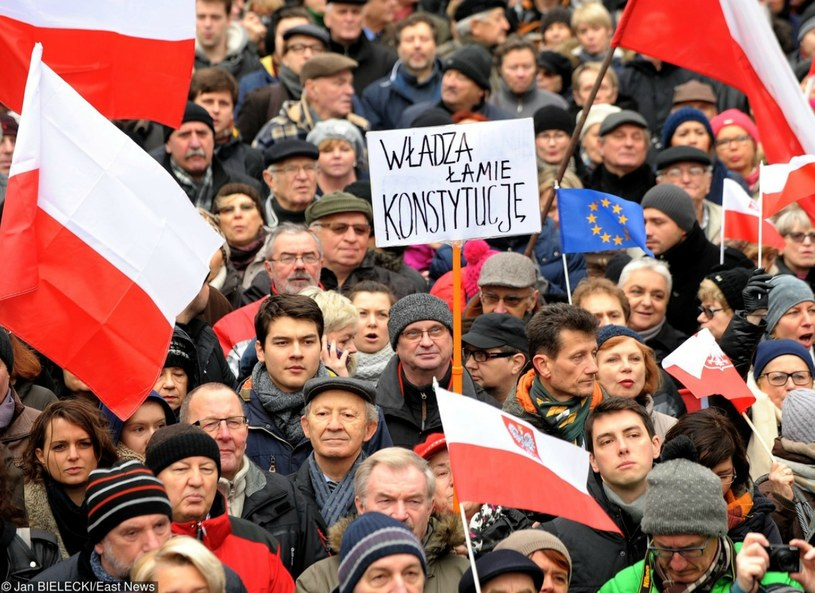 Demonstracja KOD /Jan Bielecki /Reporter