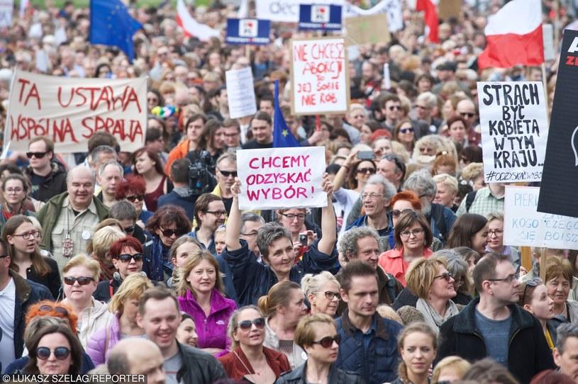 Demonstracja, Łódź /Łukasz Szeląg/Reporter /East News